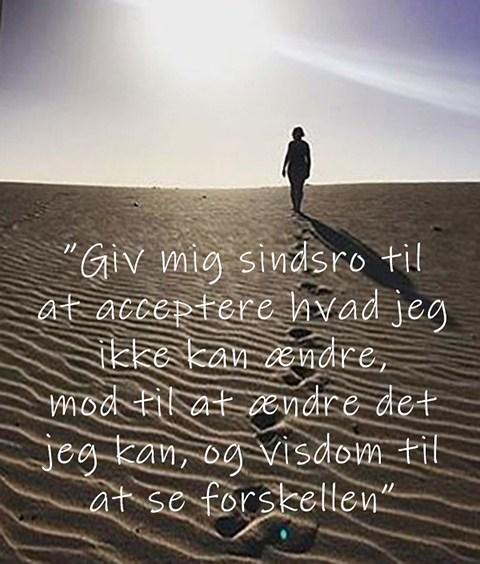 Giv mig sindsro - sindsrobønnen om afhængighed