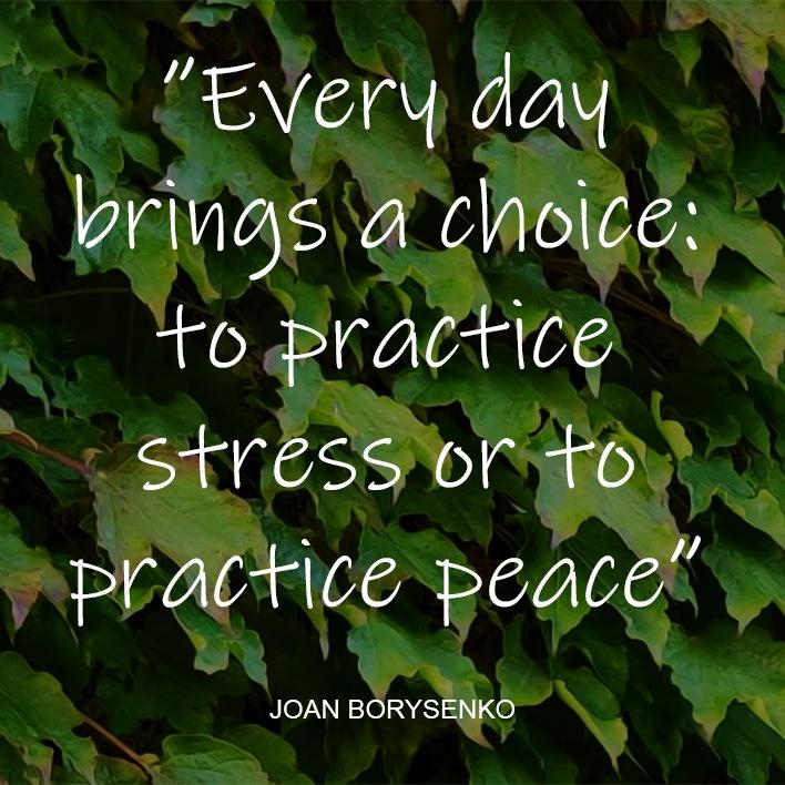 Stress behandling drejer sig primært om redskaber til at finde den indre ro